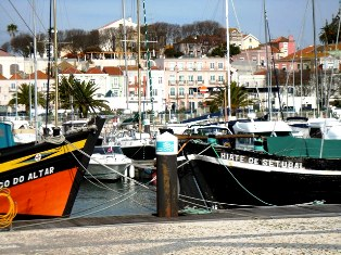Hafen Setubal Portugal