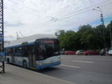 trolleybus in tallinn