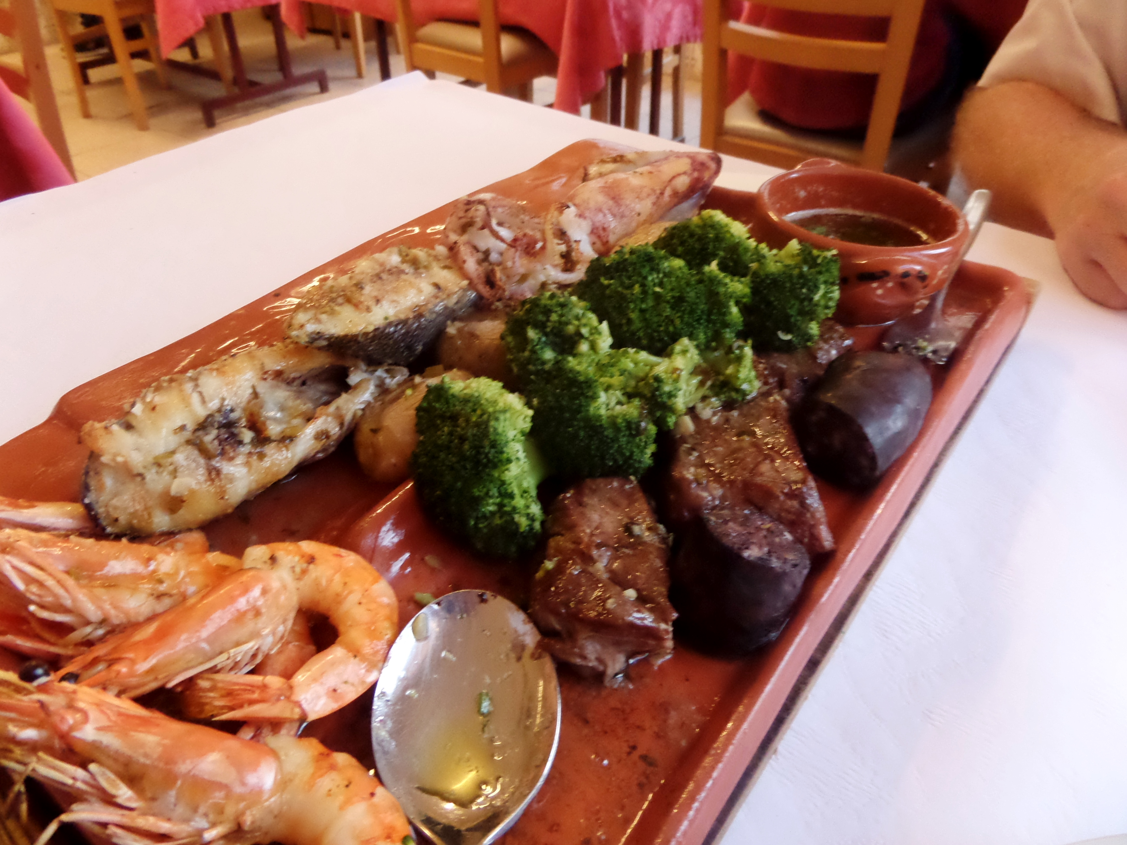 Terra e Mar im Brisa do Mar: Extrem lecker